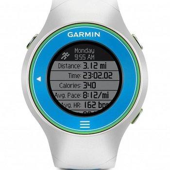 Garmin Forerunner 610 GPS Watch - White/Blue