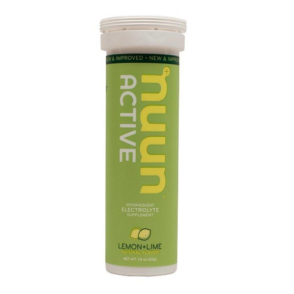 Nuun Hydration Lemon Lime Drink Tablet Tube-12 Tabs