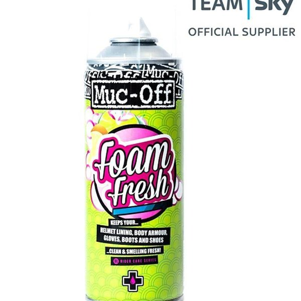 Muc-Off Foam Fresh Helmet Cleaner - 400 ML