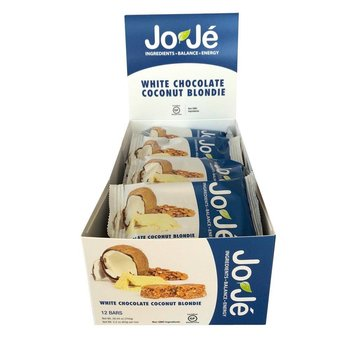 Joje White Chocolate Coconut Blondie Bars -12Ct