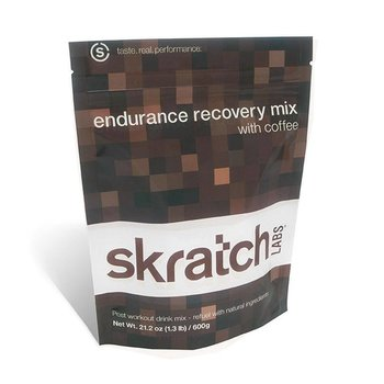 Skratch Endurance Recovery Coffee Mix - 12Ct