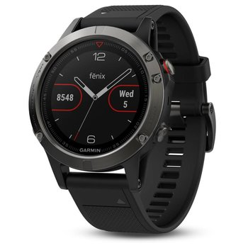 Garmin Fenix 5 Slate Gray GPS Watch - Black Band