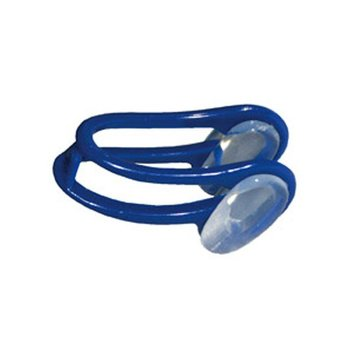 Aqua Sphere Silicone Nose Clip With Carrying Case Navy/Grey