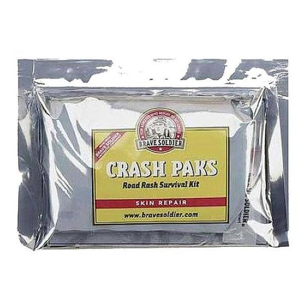 Brave Soldier Crash Paks Kit - For Road Rash Injury - Each
