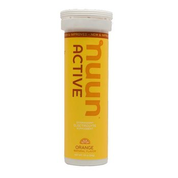 Nuun Hydration Orange Drink Tablet Tube-12 Tabs