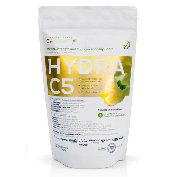 CarboPro Hydra C5 - Natural Lemonade Powder - 1 Lbs
