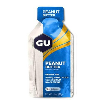 GU Peanut Butter Gel Box 24Ct