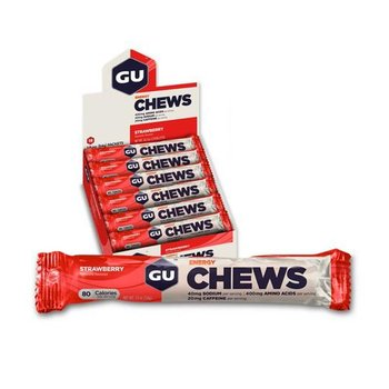 GU Chews Strawberry Box - 18Ct