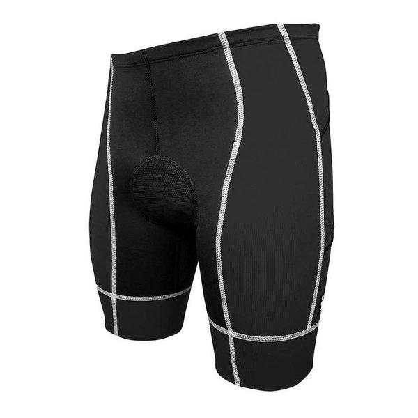 Desoto Mens Forza Tri Short - 4 Pockets Black