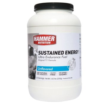 Hammer Nutrition Sustained Energy Unflavored Drink Mix - 30 Servings