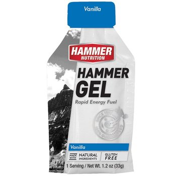 Hammer Nutrition Hammer Vanilla Gel Box - 24 Ct