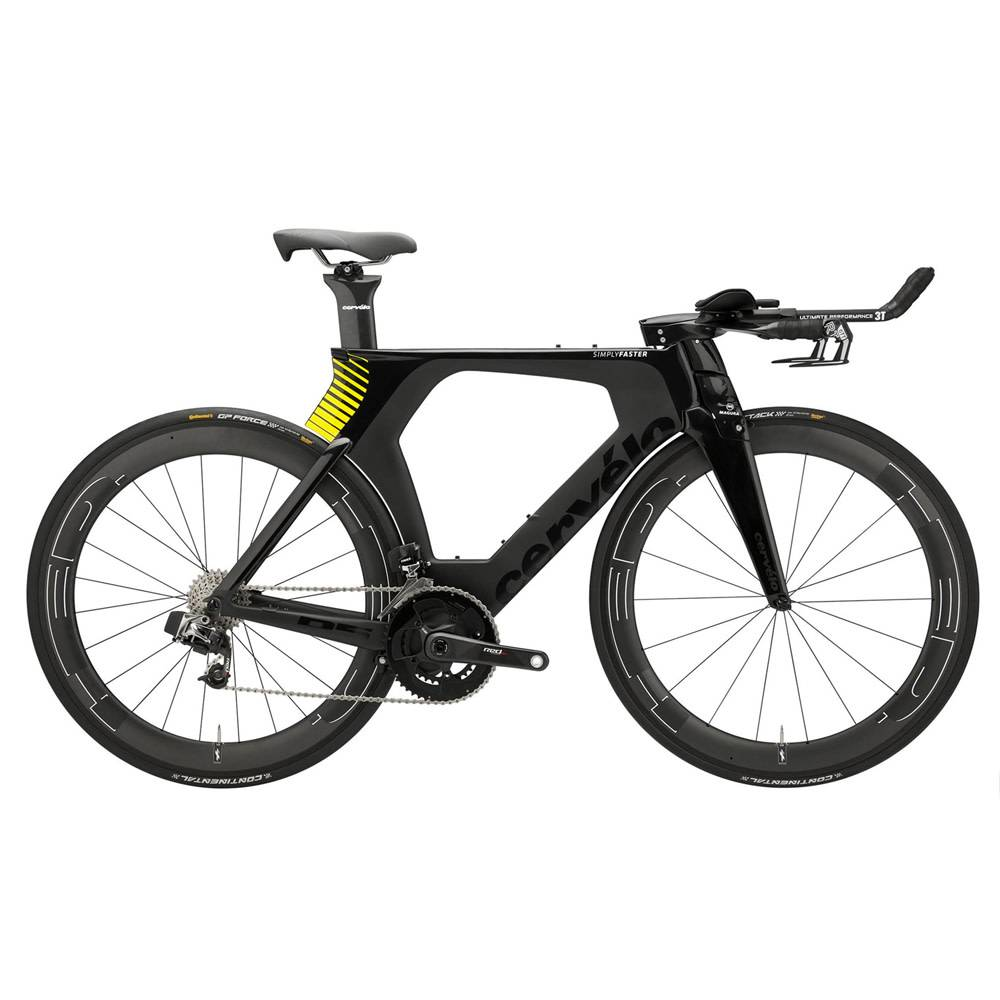 2018 Cervelo P5 Sram eTAP Triathlon Bike