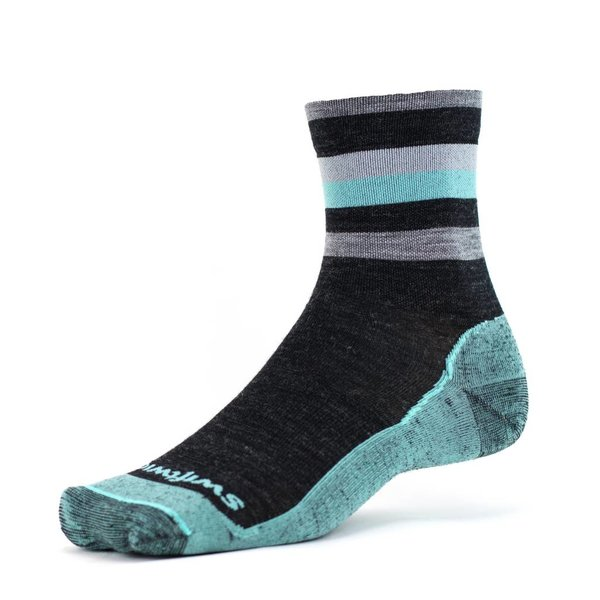 Swiftwick Pursuit FOUR Quarter Crew Socks
