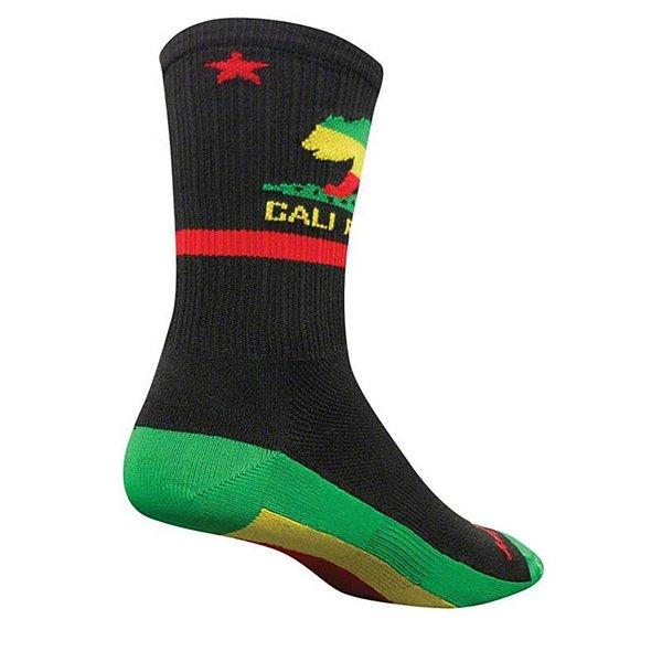 Sock Guy Rasta Cali Socks