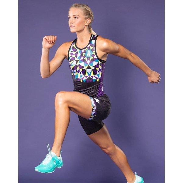 Betty Designs Kaleidoscopt Tri Short - Womens