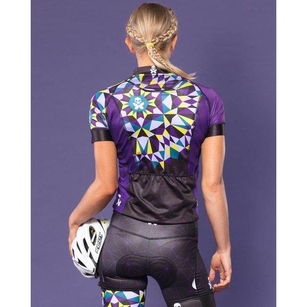 Betty Designs Kaleidoscope Cycle Bib Short - Womens