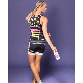 Betty Designs World Champ Fluoro Tri Short - Womens