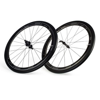 HED Jet 4/6 Black Clincher Wheelset