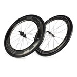 HED Jet 6/9 Black Clincher Wheelset