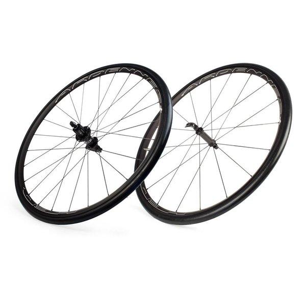 HED Ardennes Black Clincher Wheelset