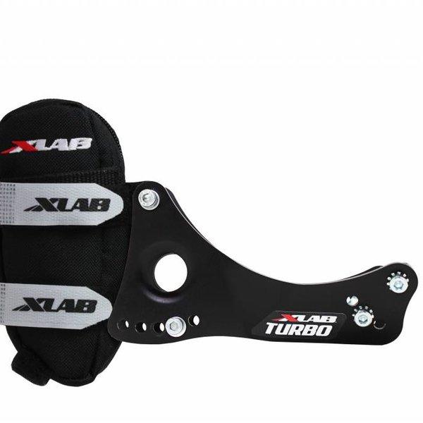 Xlab Turbo Wing Rear Dual Hydration Carrier - Black