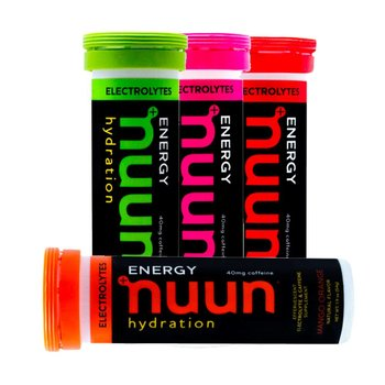 Nuun Hydration Electrolyte Drink Tube with Caffeine - 10 Tablets