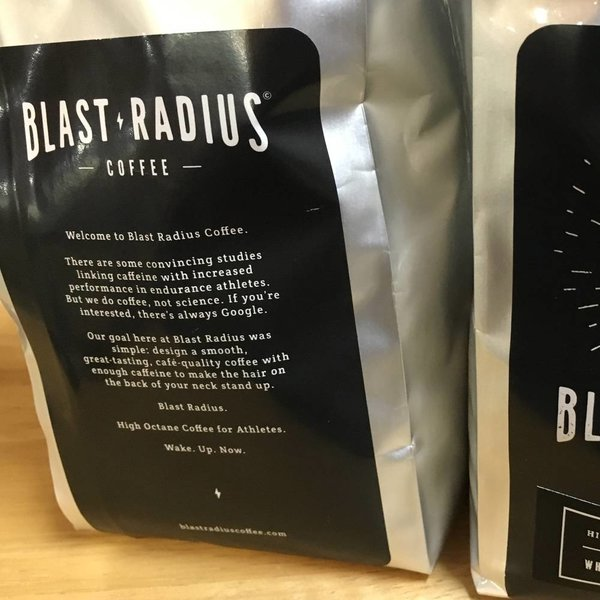 Blast Radius Whole Bean Coffee Bag - 12oz