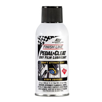 Finish Line Pedal and Cleat Lube, 5oz Aerosol