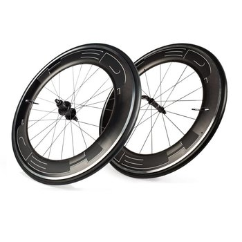 HED Jet 9 Plus Black Clincher Wheelset