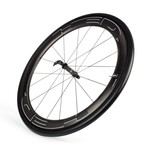 HED Jet 4 Plus Black Clincher Front Wheel