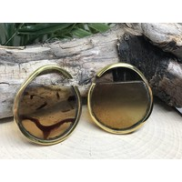 Buddha Jewelry Nature Vs Nurture Muse Brass/Amber Small (4g)