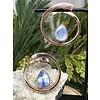 Buddha Jewelry Organics Buddha Jewelry Stay Sexy Rose Gold with Blue Kyanite Small 16g