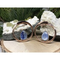 Buddha Jewelry Stay Sexy Rose Gold with Blue Kyanite Small 16g