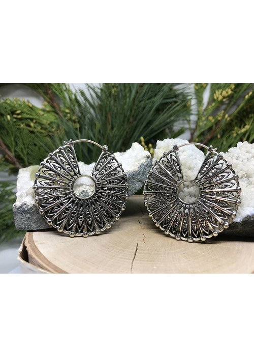 Maya Jewelry Maya Jewelry Cloak in White Brass 18g