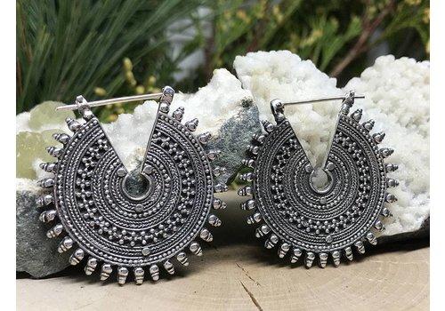 Maya Jewelry Maya Jewelry The Queens Standard in Silver 18g