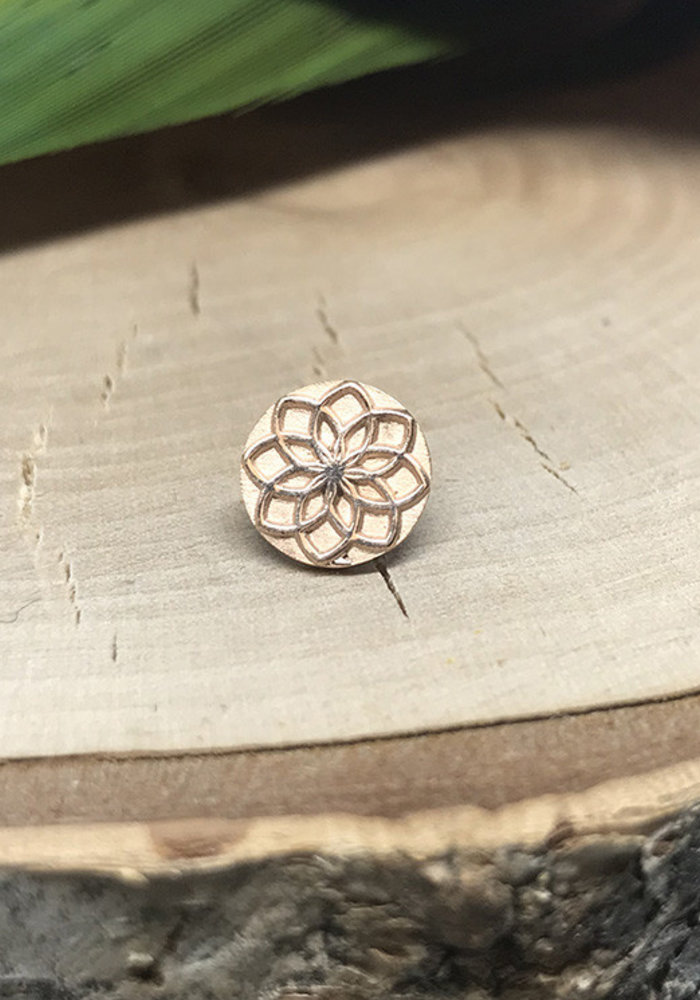 Tether Jewelry Aster 00  14k Rose Gold Threadless