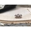 Tawapa Tawapa Tiara 14k Rose Gold with White Diamond Threadless
