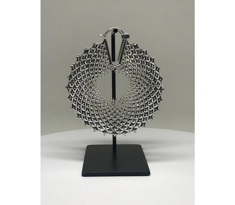 Tawapa Arcane Hoop Silver Plated 18g