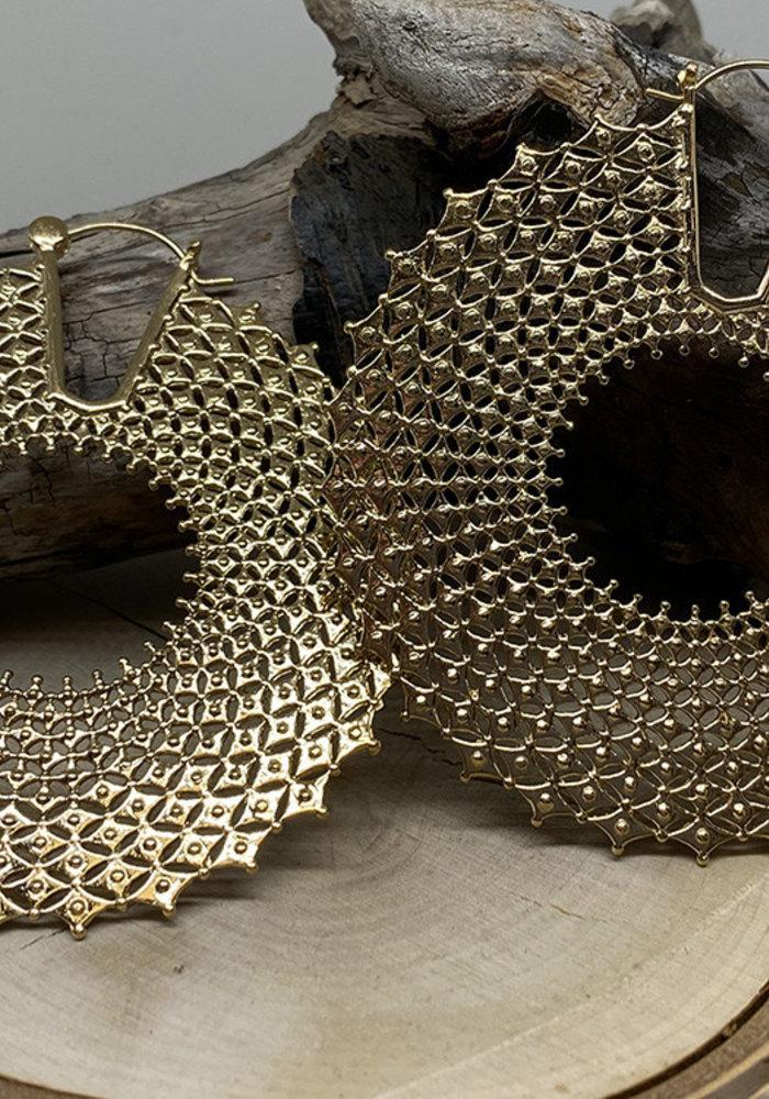 Tawapa Arcane Hoop Gold Plated 18g