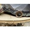"Tawapa Tawapa Faceted 14k Rose Gold with x4-1mm White Diamonds 18g 1/4"" Seam Ring"