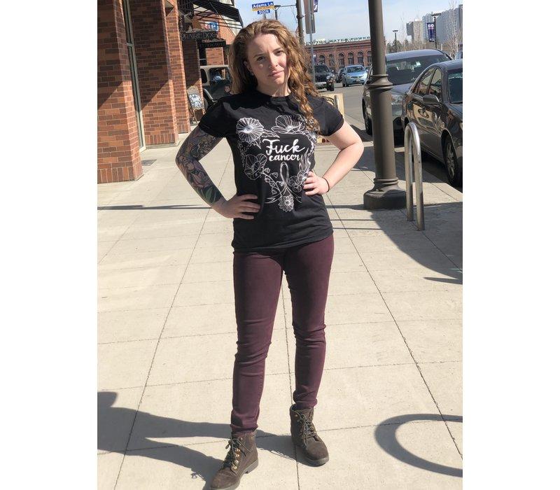 Fuck Cancer T-Shirt-Black