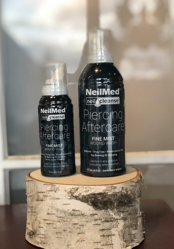 NeilMed Wound Wash Piercing Aftercare Large-Fine Mist 6 fluid ounces