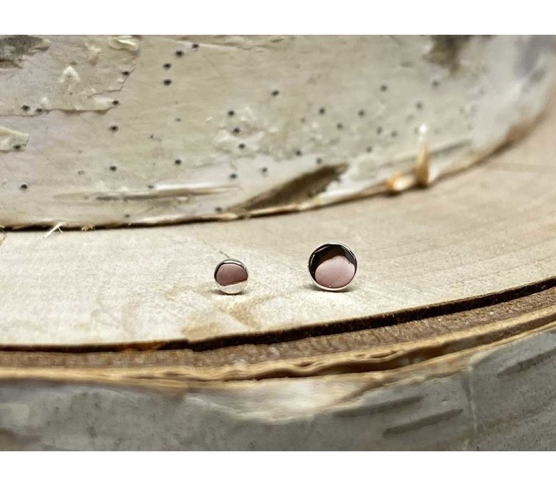 Junipurr White Gold Disk 3mm Threadless