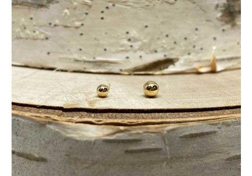 Junipurr Junipurr Yellow Gold Ball 2.5mm Threadless