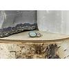 Tawapa Tawapa Wild Solid 14k White Gold with Genuine Opal Threadless