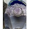 "Tawapa Tawapa Grove Solid 14k White Gold with White Diamonds 16g 5/16"" Seam Ring"