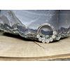 """Tawapa Tawapa Daisy Chain Solid 14k White Gold with 1.5mm White Diamonds 16g 5/16"""" Seam Ring"""