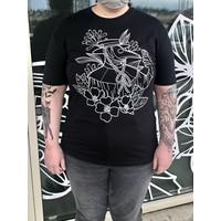 Mom's Plague Doctor T Shirt Black