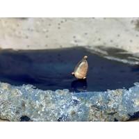 Buddha Jewelry Prong Pear Rose Gold Labradorite Threadless