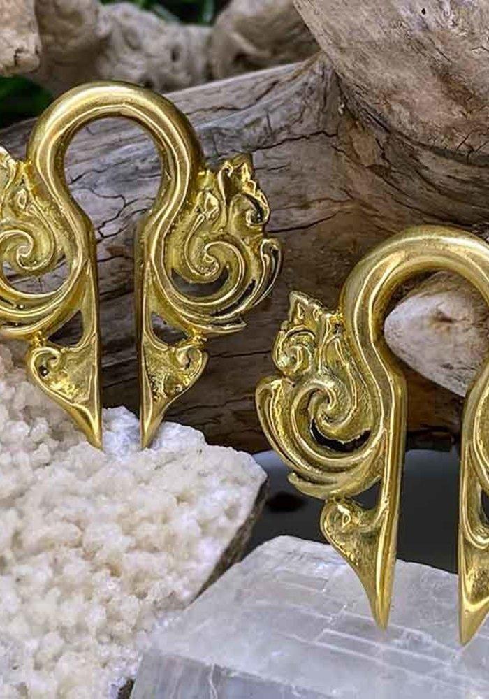 Brass Swirl Weights